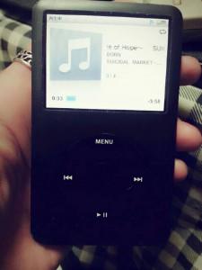 BORN 猟牙の愛用品 『iPodちゃん』