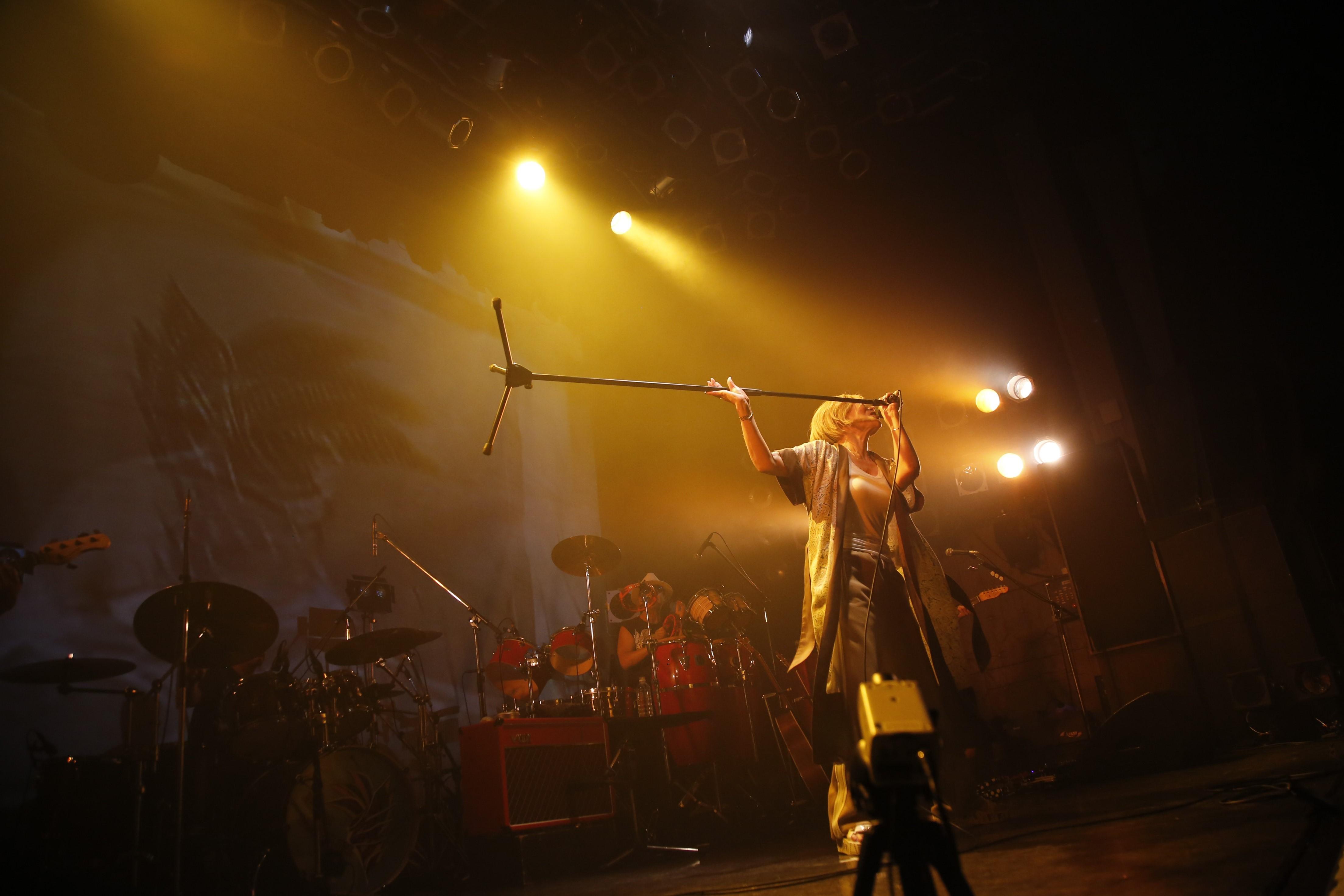 夏木マリ4月15日(金)渋谷 TSUTAYA O-WEST
