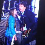 ポールと10歳の少女