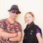 [左:斉藤ノヴ、右:夏木マリ]