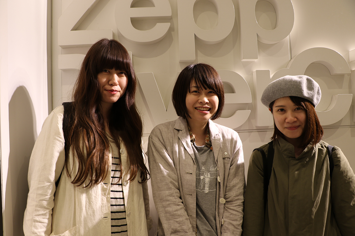 LOVE JAM 女性3人組