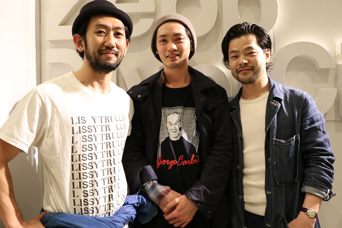 LOVE JAM 美容師 男性3人組